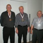 C Rækken Gold Jan Sølv Arne C Bronze John