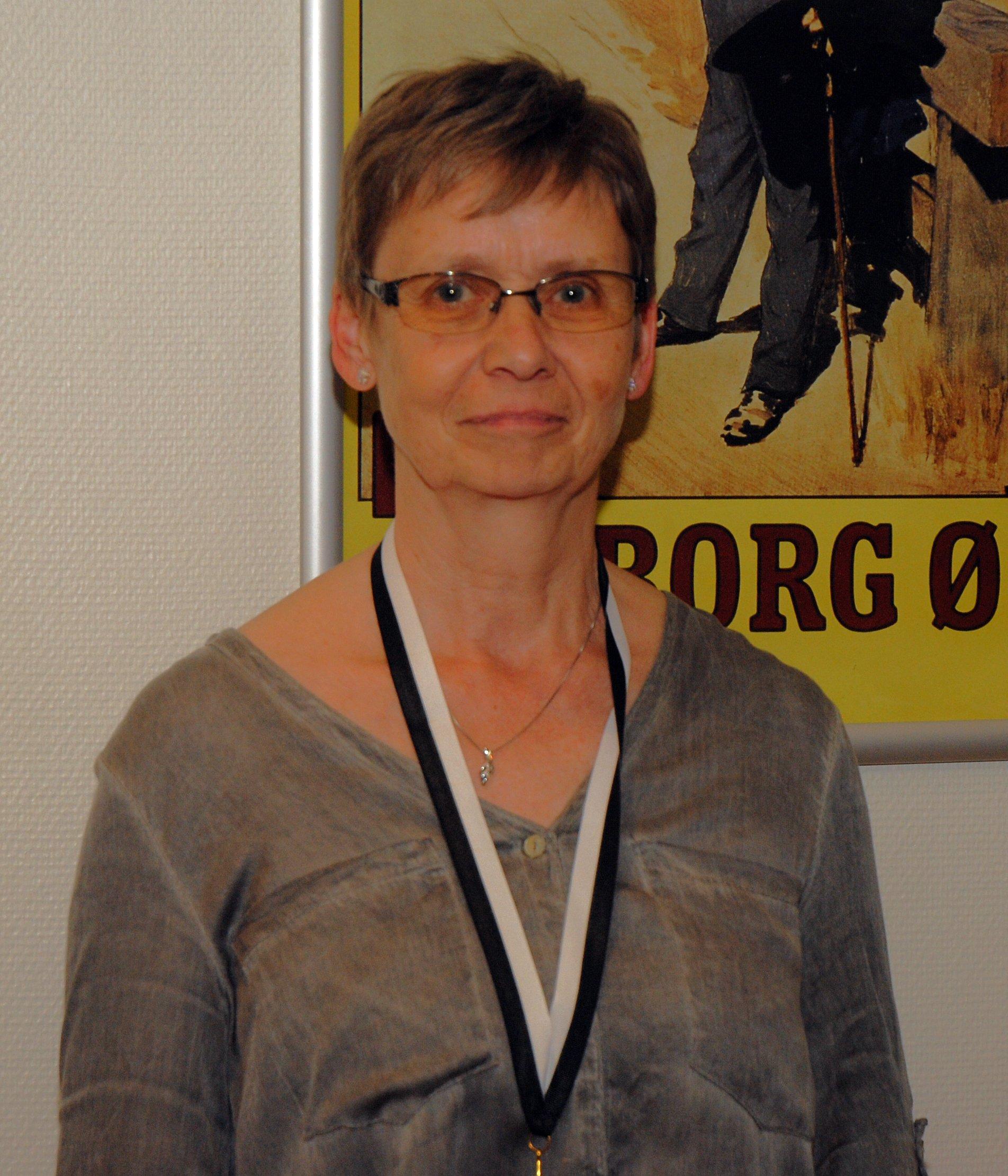 Klubmesterskab 2015. Damer række D. Guld til Margit Jensen