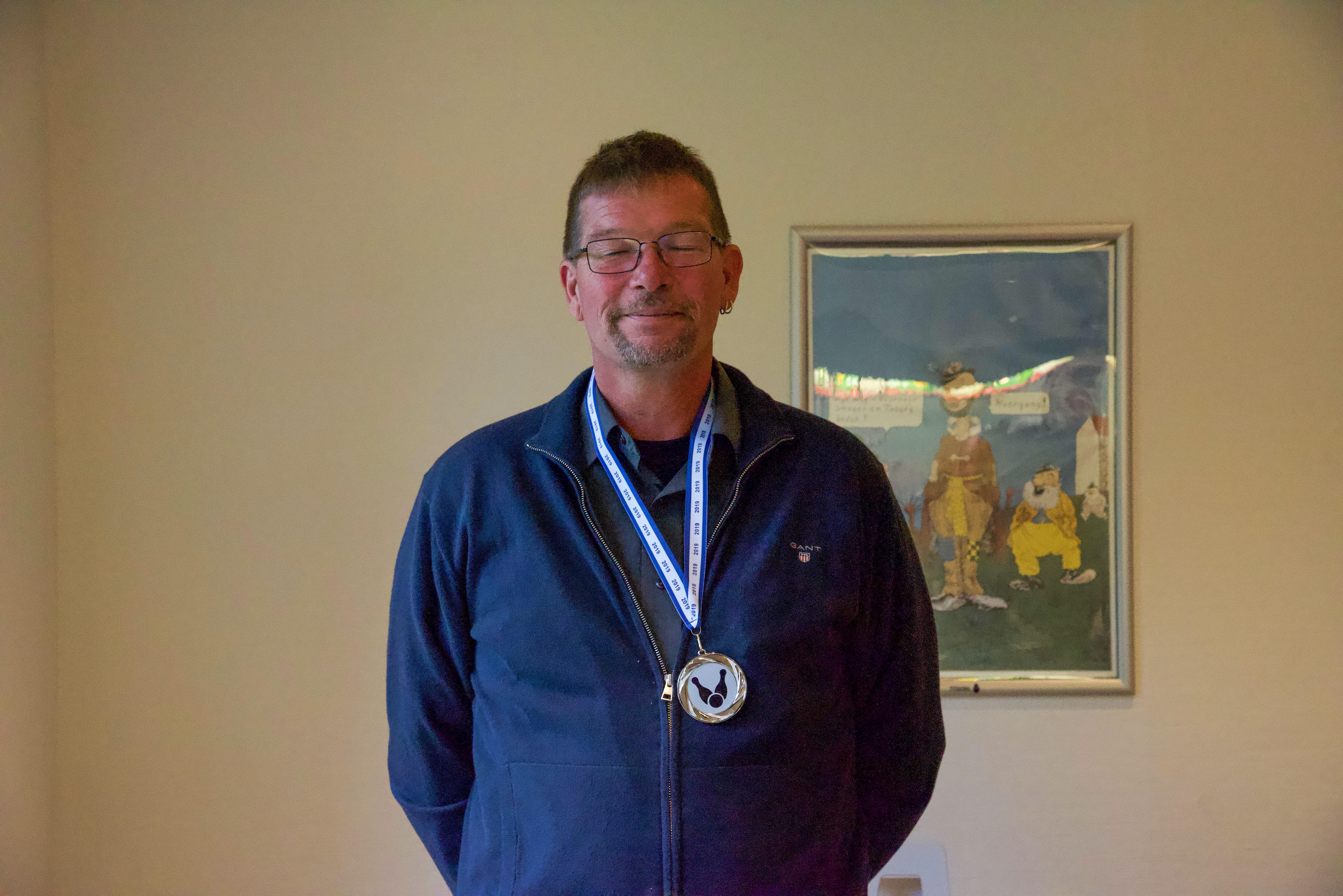 Klubmesterskab. Herrer Række Elite. Guld til Per L. Sørensen, sølv til Allan Kaurin, bronze til  Henning Schmidt